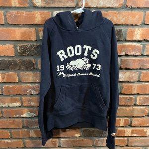 Roots The Beaver Brand Logo Hooded Sweatshirt